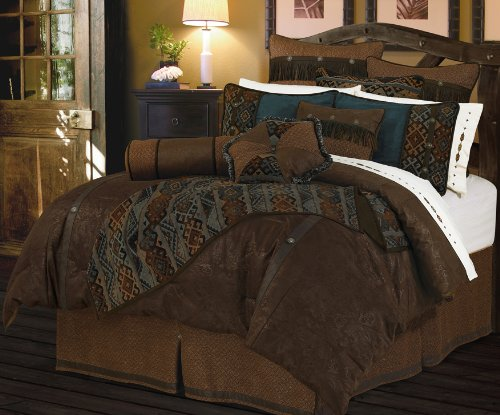 Hiend Accents Del Rio Comforter Set, Super Queen