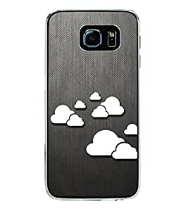 Clouds Pattern 2D Hard Polycarbonate Designer Back Case Cover for Samsung Galaxy S6 Edge+ :: Samsung Galaxy S6 Edge Plus :: Samsung Galaxy S6 Edge+ G928G :: Samsung Galaxy S6 Edge+ G928F G928T G928A G928I