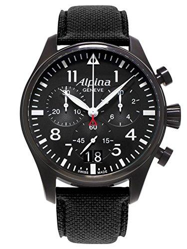 Alpina Startimer Pilot Chrono Mens Watch AL-372B4FBS6