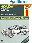 Honda Civic Automotive Repair Manual,...