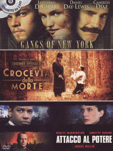 Gangs of New York + Crocevia della morte + Attacco al potere [3 DVDs] [IT Import]
