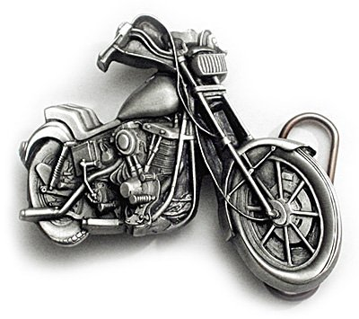 CHOPPER MOTORCYCLE Belt Buckle Biker Tattoo Harley Custom