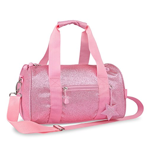 bixbee-sparkalicious-pink-duffle-bag-medium-by-bixbee