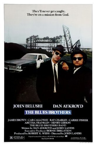 Blues Brothers-Movie poster, 61 cm x 91 cm 24inx36in