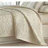 Martha Stewart Trousseau Full/Queen Coverlet Ornate Paisley