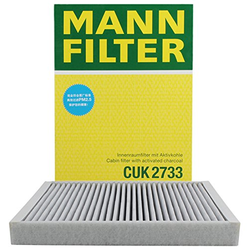 Mann-Filter CUK 2733 Cabin Filter With Activated Charcoal for select  Volvo S80 models