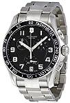 Victorinox Swiss Army Men's 241494 Black Dial Chronograph Watch from Victorinox Swiss Army