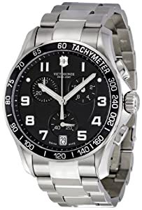 Victorinox Swiss Army Men's 241494 Black Dial Chronograph Watch by Victorinox Swiss Army