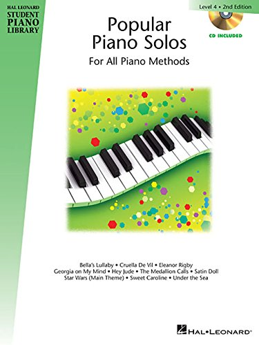 Popular Piano Solos - Level 4: Hal Leonard Student Piano Library Book with Enhanced CD [Keveren, Phillip - Rejino, Mona - Kern, Fred] (Tapa Blanda)