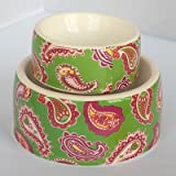 "Multicolored Dog Bowl - Medium (8"" dia.) - Frontgate"