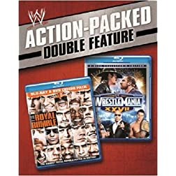 WWE: WrestleMania 27 / WWE: Royal Rumble 2011 (Double Feature) [Blu-ray]