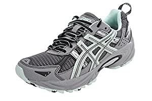 ASICS Women's GEL-Venture 5 Running Shoe (8.5 B(M) US, Frost Gray/Silver/Soothing Sea)