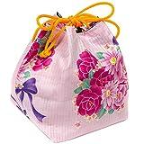 (キョウエツ)KYOETSU かわいい花柄 浴衣巾着 柄お任せ ランキングお取り寄せ