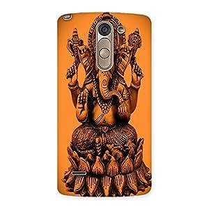 AJAYENTERPRISES Cover Of Ganpatti Back Case Cover for LG G3 Stylus