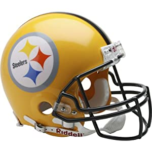Riddell Pittsburgh Steelers 2007 Authentic Throwback Helmet