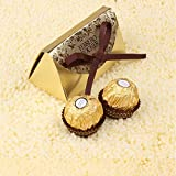 2016 Wedding Favors and Gifts Baby Shower 20pcs Paper Candy Box Ferrero Rocher Boxes Wedding Favors Sweet Gifts Bags Supplies