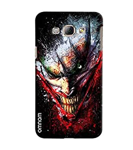 Omnam Dragon Laughing Pose Printed Designer Back Cover Case For Samsung Galaxy A8