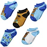 Berkshire Big Boys' Scooby Doo 5 Pair Low Cut Sock Value Pack