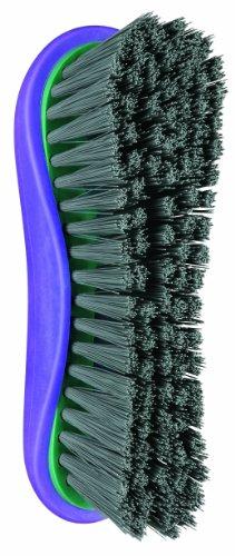 Conair Equine Fx Stiff Grooming Brush, Equine Professional Grooming, Green/Purple