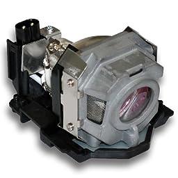Nec OEM(Original Bulb and Generic Housing) LT35, LT35G, LT35LP / 50029556 Projector Lamp with Housing