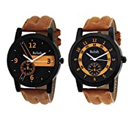 Relish Diwali Gifts Analog Tan Watches combo for Mens & boys