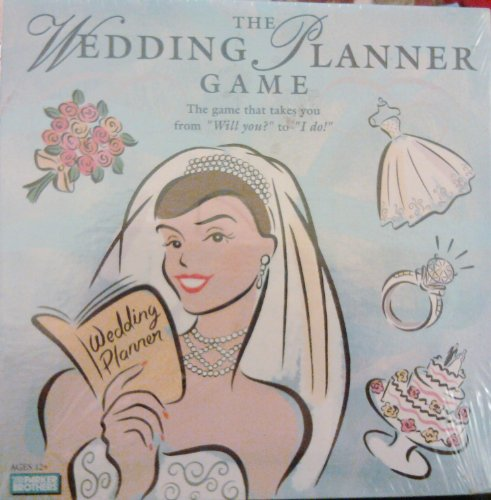 The Wedding Planner Game by Parker Brothers