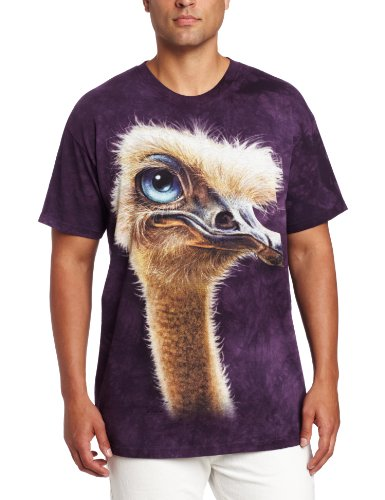 The Mountain Men's Ostrich Totem, Purple, Medium