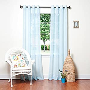 how to make sheer curtains not see through