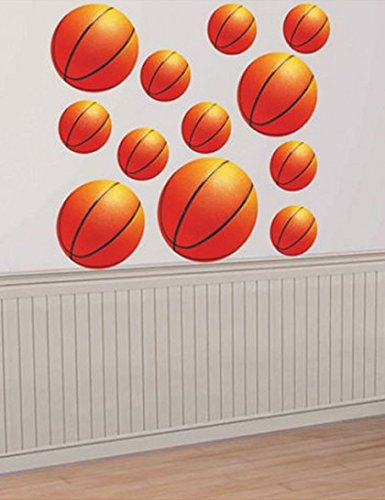 Basketball Cutout Value Pack Party Decoration [Toy]