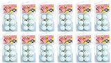 Schildkrot Disney Fun Pop Table Tennis 72 Balls (Pack 6) - White, 0.38 cm