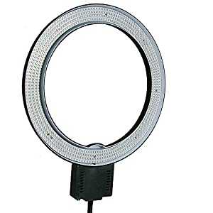 ePhoto Photography Video Studio 640 LED Continuous Macro Ring Light 5600K Day Lighting CN-R640