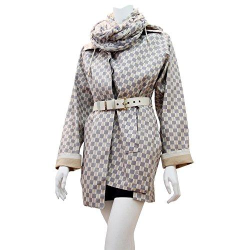 Louis Vuitton Damier Azur Raincoat (Louis Vuitton Clothes compare prices)
