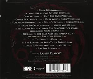 Game Of Thrones (Music From The HBOr Series) Season 3