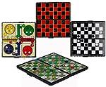 Magnetic Travel Board Games Set of 4...