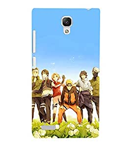 GADGET LOOKS PRINTED BACK COVER FOR XIAOMI REDMI NOTE MULTICOLOR