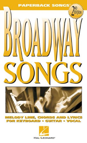 Broadway Songs (Paperback Songs)