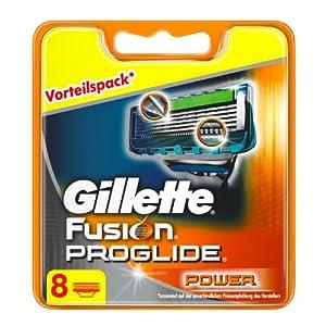 Gillette Fusion ProGlide Power Klingen, 8 Stück