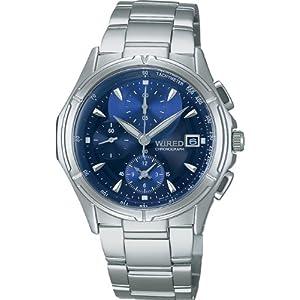 [ワイアード]WIRED 腕時計 クロノグラフ ステンレスモデル AGBV141 メンズ