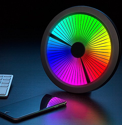 Chromatic-LED-Color-Spectrum-Clock-Mind-Blowing-and-Twisting-Mesmerizing-Excellent-Clock-Full-Color-Spectrum-Nice-to-Decorate-a-Room-Limited-Quantity-EXCLUSIVE-Great-Unique-Gift