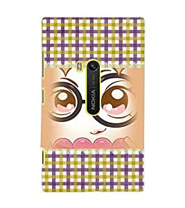 PrintDhaba Cartoon D-4101 Back Case Cover for NOKIA LUMIA 920 (Multi-Coloured)