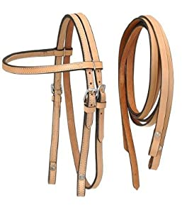 Tough 1 King Series Miniature Browband Headstall, Black