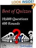 Best of Quizzes 10,000 Q&A 400 Rounds