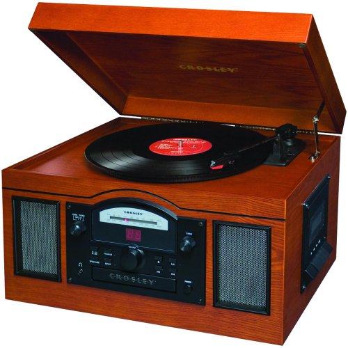 Crosley Radio CR6001A-PA Archiver USB Turntable (Paprika)