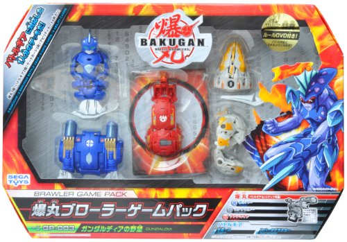 Ya07561 Sega Toys Bakugan Brawler Game Pack Gp 003