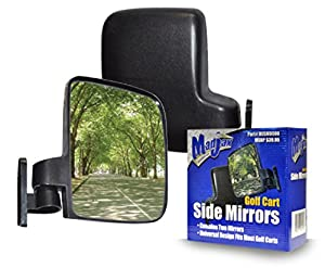 Golf cart side mirrors for Club Car EZ-GO Yamaha and Others from Madjax