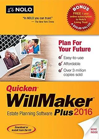 Quicken WillMaker Plus 2016 [Download]