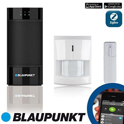 Blaupunkt-Q-Serie-Smart-Home-Alarm-Funk-IP-Alarmsystem-fr-Einbruch-Gefahrenschutz-und-Smart-Home-Plug-Play-mit-kostenloser-Smartphone-App-und-kostenlosem-Internetportal