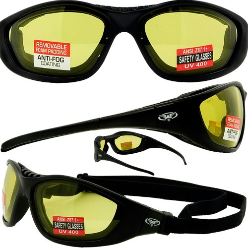 Makos by Spits Light Adjusting Photochromic Motorcycle Safety Glasses