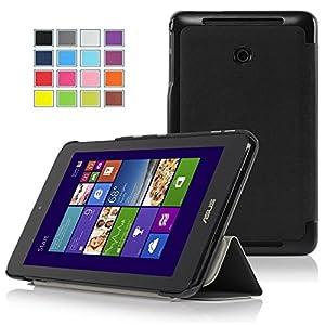 VSTN®Asus VivoTab Note 8 M80TA (windows 8.1) ultra-thin Smart Cover Case, Only fit Asus VivoTab Note 8 (windows 8.1) tablet (Smart case, Black)