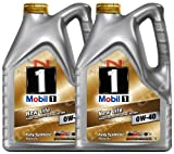 Mobil 1 0W-40 New Life Fully Synthetic Engine Oil 149015 2x5L = 10L